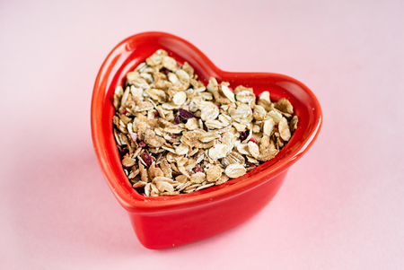 Functional muesli with toasted wheat flakes Foto de archivo - 117172044
