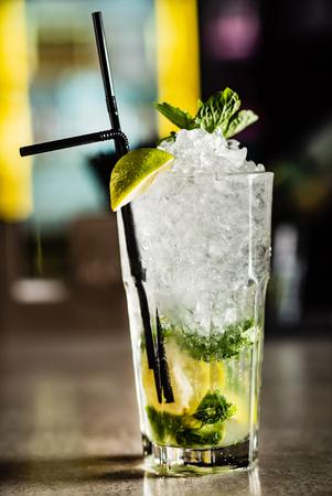 Cocktail in the bar Reklamní fotografie - 117675334