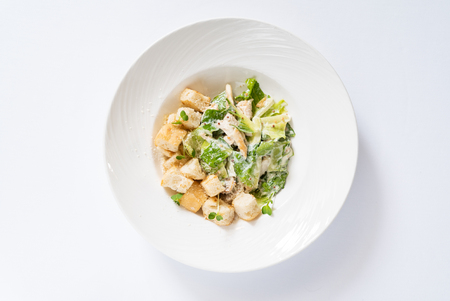 caesar salad isolated