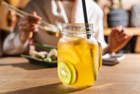 lemonade with fruits