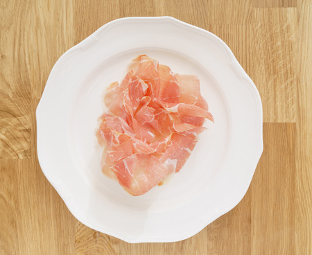 prosciutto with melon 写真素材