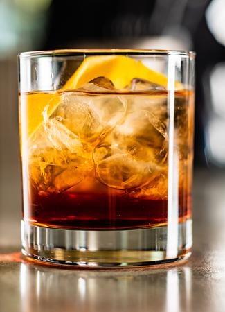 cocktail in the bar Reklamní fotografie - 120733673