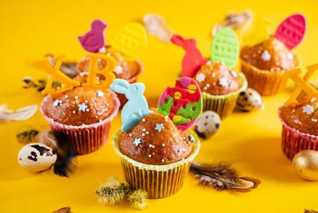 Various Spring Easter cakes