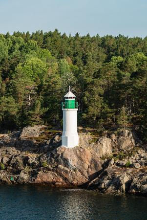 Light house, Sweden Imagens