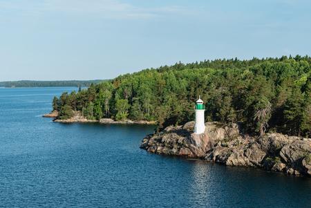 Light house, Sweden Standard-Bild - 120822809