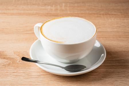 cup of cappuccino Archivio Fotografico - 121350790