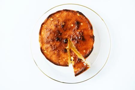 Round cheese cake