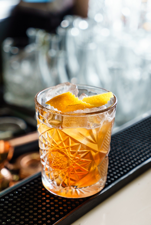 Cocktail in the bar