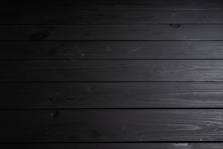 black wooden background,  natural texture