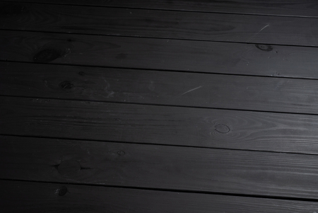 black wooden background,  natural texture 版權商用圖片 - 123768720