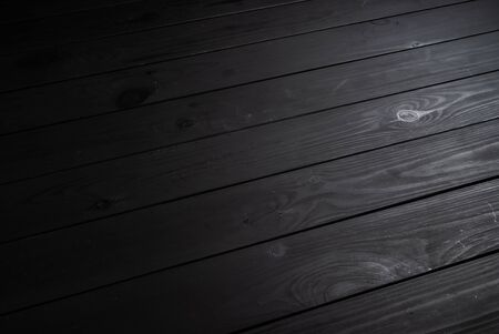 Black wooden texture