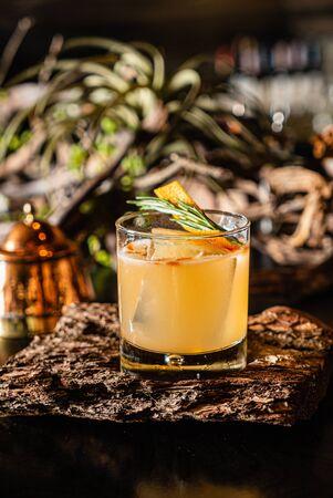 creative cocktail in the bar Zdjęcie Seryjne