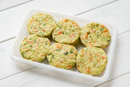 frozen vegan plant-based cutlets