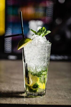 cocktail in the bar Reklamní fotografie - 127386431