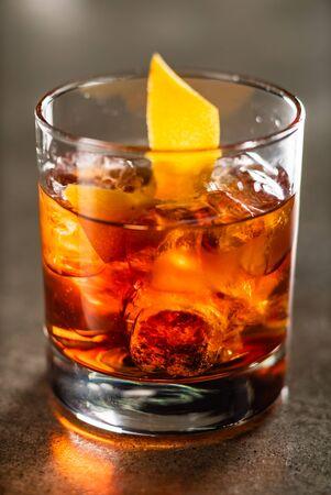 cocktail in the bar Reklamní fotografie - 127386446