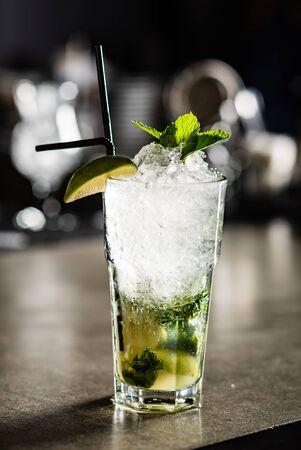 cocktail in the bar Reklamní fotografie - 127386511