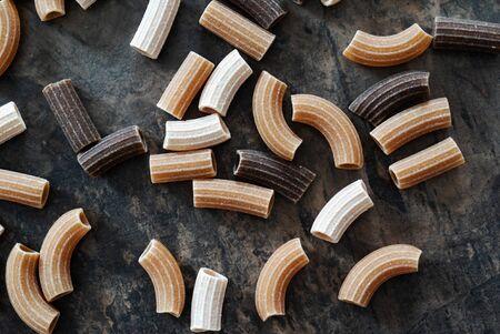 wholegrain pasta on the table