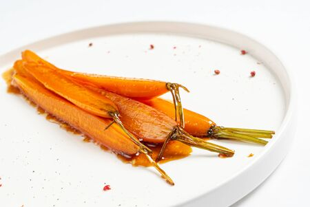 fermented carrot with balsamic sauce 版權商用圖片 - 128582928