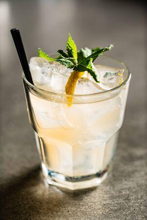 cocktail in the bar Reklamní fotografie - 129455888