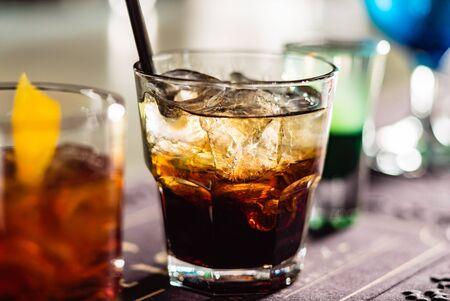 cocktail in the bar Reklamní fotografie - 129456135