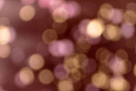blurred background  - purple and golden circles Banco de Imagens