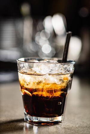 cocktail in the bar Reklamní fotografie - 129497204
