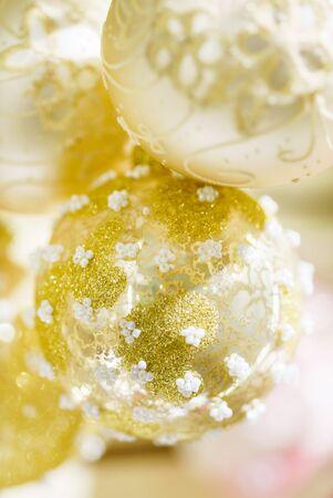 Christmas decoration on the Christmas tree