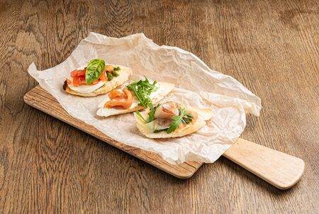 Delicious Healthy Sandwiches on the Parchment