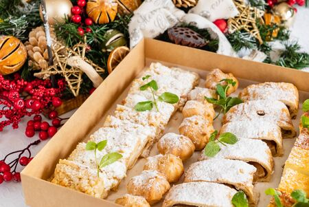 Christmas sweets in the box