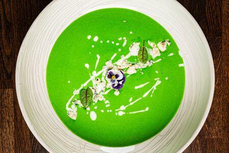broccoli cream soup with coconut milk