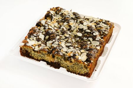 cake with poppy seeds