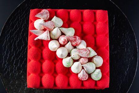 red velvet cake Stock fotó