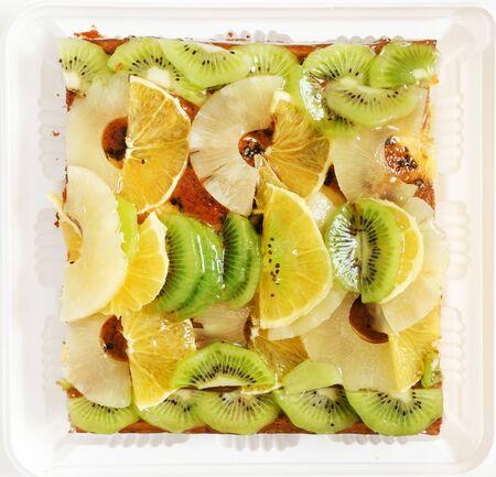 fruit cake Banco de Imagens