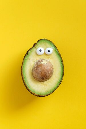 funny avocado Stock fotó