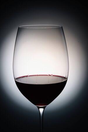 glass of red wine, macro