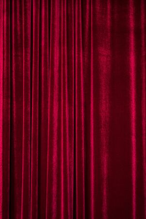 theater red curtain background, art texture