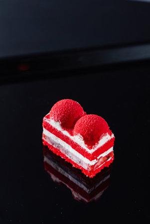 red velvet cake 免版税图像