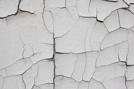 오래 된 금이 흰 벽 스톡 콘텐츠