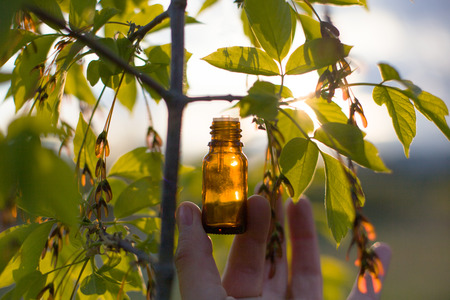 Natural remedies - oil, herbal