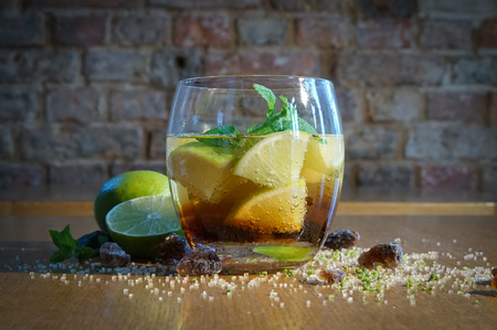 Mojito in a glass - drink