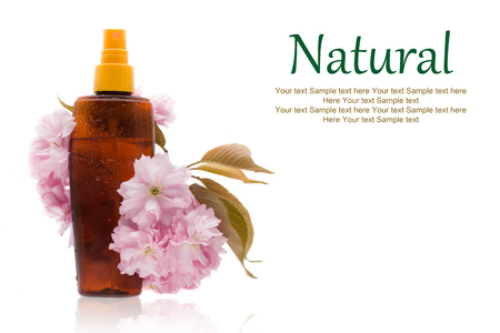 Natural cosmetics - oil, herbal