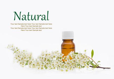 Natural cosmetics - oil, herbal