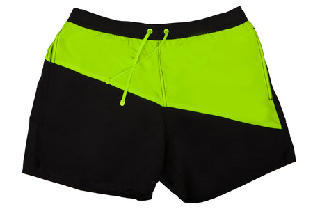Sport shorts. Isolated on white background. Mens shorts for swimming. 写真素材