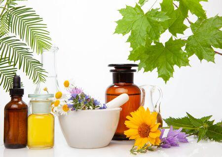 BACH - aromatherapy. Natuere medicine. Naturopathic - alternative remedies.