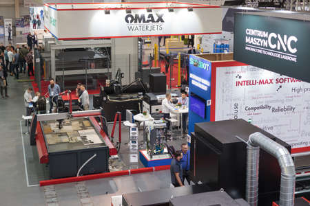 Poznan, Poland 01 Sep 2021: ITM Industry Europe. HIGH TECH EXPO. Editoriali