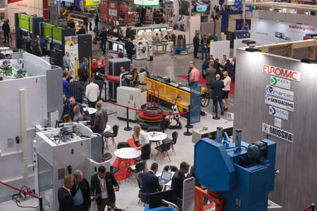 Poznan, Poland 01 Sep 2021: HIGH-TECH EXPO, ITM Industry Europe. SHOW Editoriali