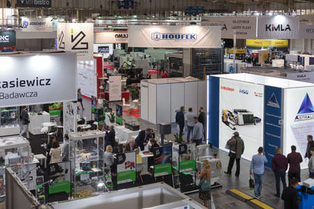 Poznan, Poland 01 Sep 2021: HIGH TECH EXPO, ITM Industry Europe.