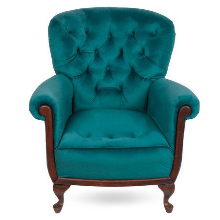 Vintage armchair on white background. Interior element Archivio Fotografico