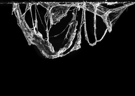 Horror Abstract Spinneweb val en sterven begrip