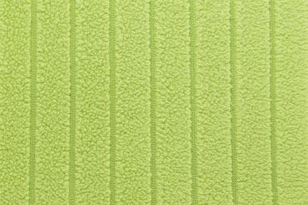 groene stof handdoek textuur achtergrond Stockfoto